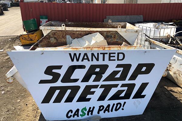 Cash for Scrap Metal Ipswich